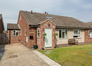 Thumbnail 3 bed semi-detached bungalow for sale in Easingwold Road, Huby, York