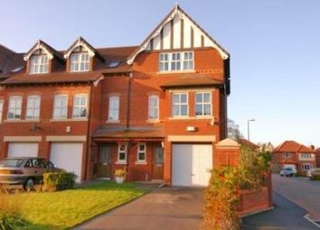 Thumbnail 4 bedroom town house to rent in Larton Farm Close, Wirral