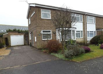 Thumbnail 3 bed semi-detached house to rent in Francis Dickens Close, Wollaston, Northamptonshire