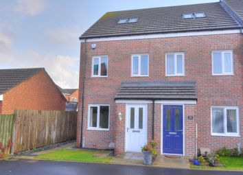 Thumbnail 3 bedroom mews house for sale in Clearwell Place, Bedlington