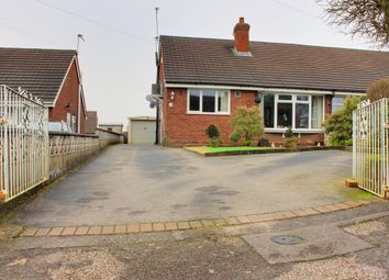 Thumbnail 3 bed semi-detached bungalow for sale in Heathcote Rise, Weston Coyney, Stoke-On-Trent