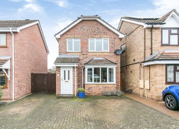 Thumbnail 3 bed detached house for sale in Layzell Croft, Great Cornard, Sudbury