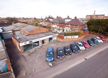 Thumbnail Commercial property for sale in `Premier Garage', Sneyd Street, Leek, Staffordshire