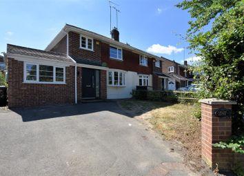 Thumbnail 4 bed semi-detached house for sale in Overdown Road, Tilehurst, Reading