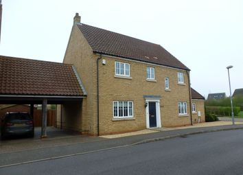 Thumbnail 4 bedroom link-detached house for sale in Alexander Chase, Ely