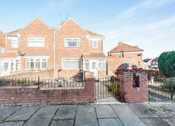 Thumbnail 2 bed semi-detached house for sale in Mariville East, Sunderland, Tyne And Wear