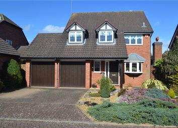 Thumbnail 4 bed detached house for sale in Spilsbury Close, Leamington Spa, Warwickshire