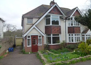 Thumbnail 3 bed semi-detached house to rent in Oliver Road, Southampton