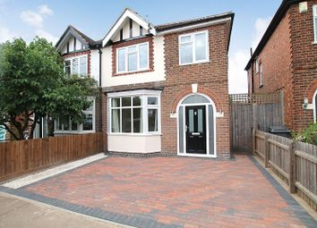 Thumbnail 3 bedroom semi-detached house for sale in Stanfell Road, Knighton, Leicester