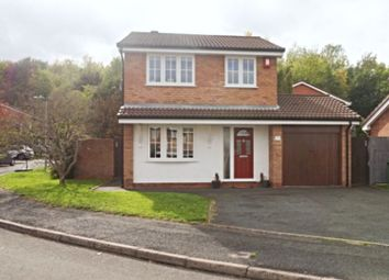 Thumbnail 3 bed detached house for sale in Windermere Drive, Telford