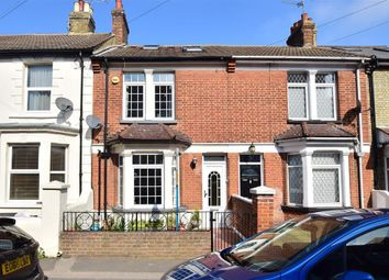 Thumbnail 4 bed terraced house for sale in Beresford Road, Gillingham, Kent