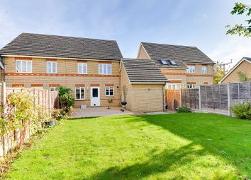 Thumbnail 3 bedroom semi-detached house to rent in Titchmarsh Close, Royston