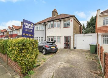 3 bed semi-detached house for sale in Okehampton Crescent, Welling, Kent DA16