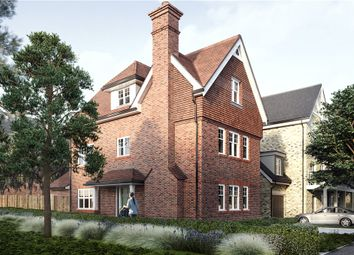 Thumbnail 4 bedroom detached house for sale in Ively Road, Fleet