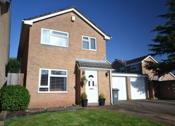 Thumbnail 3 bed detached house for sale in Exley Close, North Common, Bristol