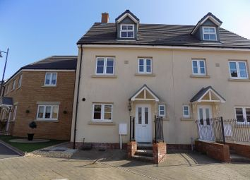 Thumbnail 4 bed semi-detached house for sale in Ffordd Y Grug, Coity, Bridgend.