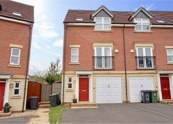 Thumbnail 3 bed town house for sale in Haddon Way, Loughborough