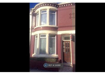 Thumbnail 3 bedroom terraced house to rent in Willaston Road, Liverpool