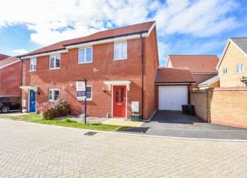 Thumbnail 3 bed semi-detached house for sale in Magpie Chase, Stanway, Colchester, Essex