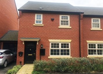Thumbnail 3 bedroom property to rent in Bramblehedge Drive, Sinfin, Derby