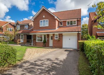 Thumbnail 4 bed detached house for sale in Oxcroft, Acle, Norwich