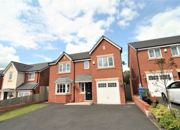 Thumbnail 4 bed detached house for sale in Fir Tree Grove, Chorley