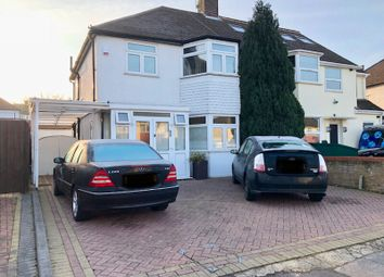 Thumbnail 3 bed semi-detached house to rent in Cheriton Avenue, Ilford