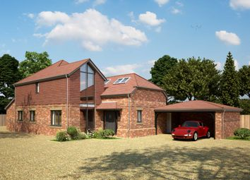 Thumbnail 4 bed detached house for sale in Newport Road, Woburn Sands, Milton Keynes