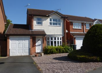 Thumbnail 3 bed detached house for sale in Foxes Way, Balsall Common, Coventry