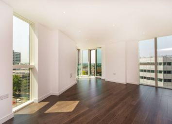 Thumbnail 3 bed flat for sale in Saffron Tower, Croydon