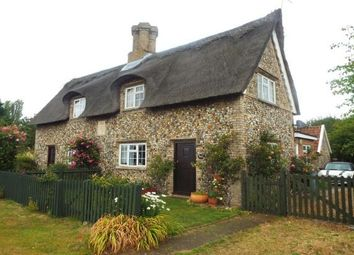 Thumbnail 2 bed cottage to rent in Risby, Bury St. Edmunds