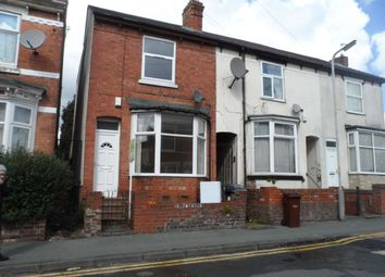 Thumbnail 3 bed end terrace house to rent in Merridale Street West, Wolverhampton