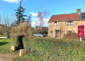 Thumbnail 3 bed semi-detached house for sale in The Green, Ridlington, Oakham