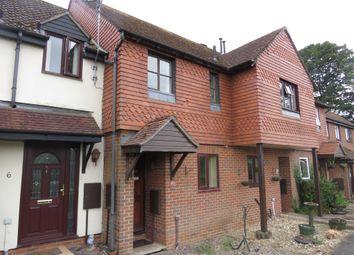 Thumbnail 2 bed terraced house for sale in Kings Meadow, Overton, Basingstoke