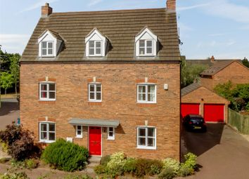 Thumbnail 5 bed detached house for sale in Costard Avenue, Warwick, Warwickshire
