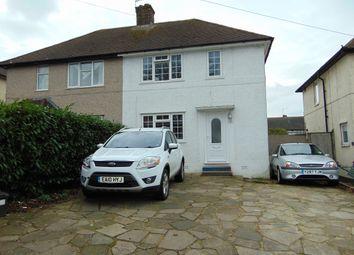 Thumbnail 3 bed semi-detached house for sale in Montacute Road, New Addington, Croydon, Surrey
