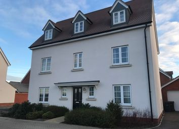 Thumbnail 5 bedroom detached house for sale in Emberson Croft, Chelmsford, Essex
