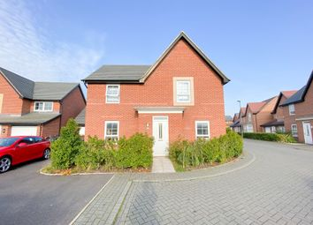 Thumbnail 4 bed detached house for sale in Butterbur Close, Stenson Fields, Derby