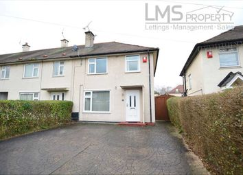 Thumbnail 3 bed end terrace house to rent in Ash Road, Crewe