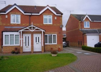 Thumbnail 2 bed semi-detached house for sale in Skipton Close, Bedlington