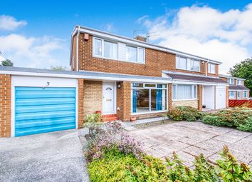 Thumbnail 3 bed semi-detached house for sale in Ridsdale Close, Wallsend