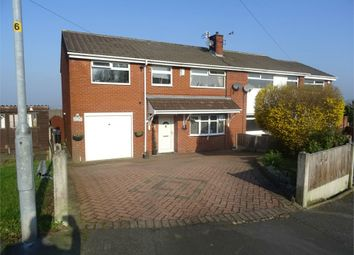 Thumbnail 5 bed semi-detached house for sale in High Croft Close, Dukinfield, Greater Manchester