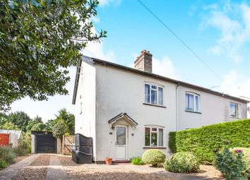 Thumbnail 3 bedroom semi-detached house for sale in Newton Road, Whittlesford, Cambridge
