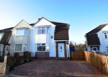 Thumbnail 3 bed semi-detached house for sale in Cote Lea Park, Westbury-On-Trym, Bristol