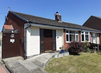 Thumbnail 2 bed semi-detached bungalow for sale in Firs Lane, Leigh, Greater Manchester.