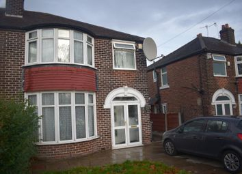 Thumbnail 3 bed semi-detached house to rent in Mauldeth Road West, Chorlton Cum Hardy, Manchester