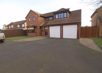 Thumbnail 5 bed detached house for sale in Crofters Close, Annitsford, Cramlington