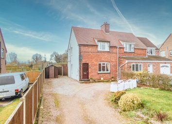 Thumbnail 2 bed semi-detached house for sale in Croxton, Near Eccleshall, Stafford