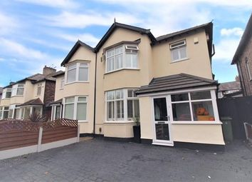 Thumbnail 3 bed semi-detached house for sale in Queens Drive, Mossley Hill, Liverpool