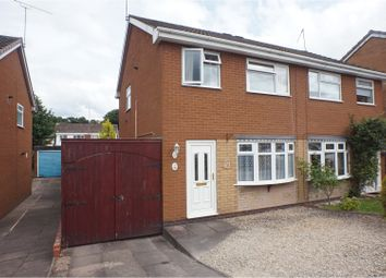 Thumbnail 3 bed semi-detached house for sale in Meadow Croft, Cannock